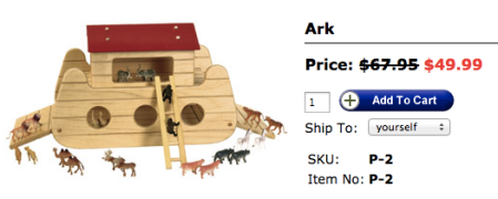 TAG Toys Ark Toy