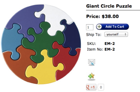 TAG Toys Giant Circle Puzzle