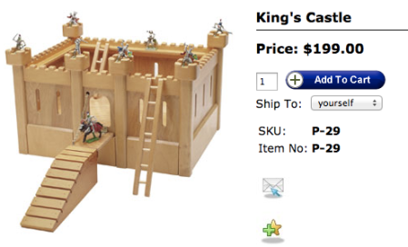 TAG Toys Castle Activity Set