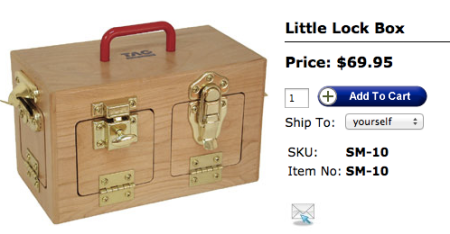 TAG Toys Little Lock Box