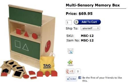 TAG Toys Memory Box